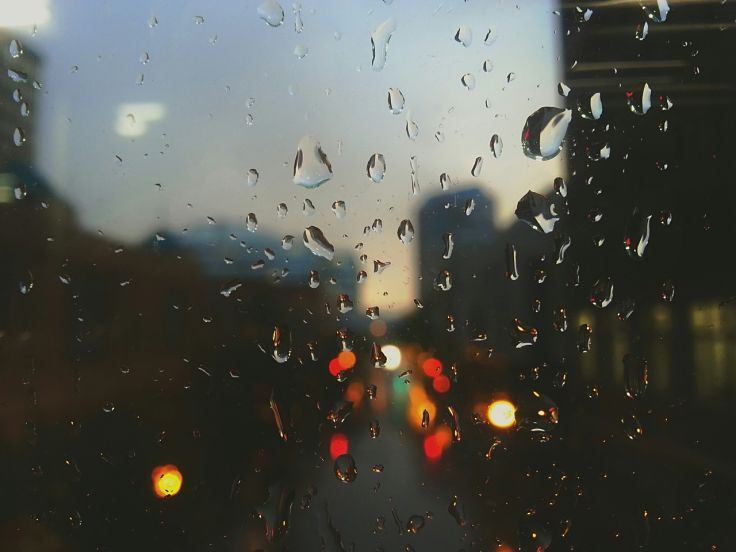 Pitter Patter of Rain on Glass Pane